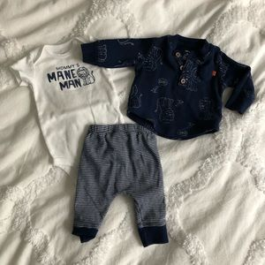 Carters Mommy's Main (Mane) Man outfit 3m